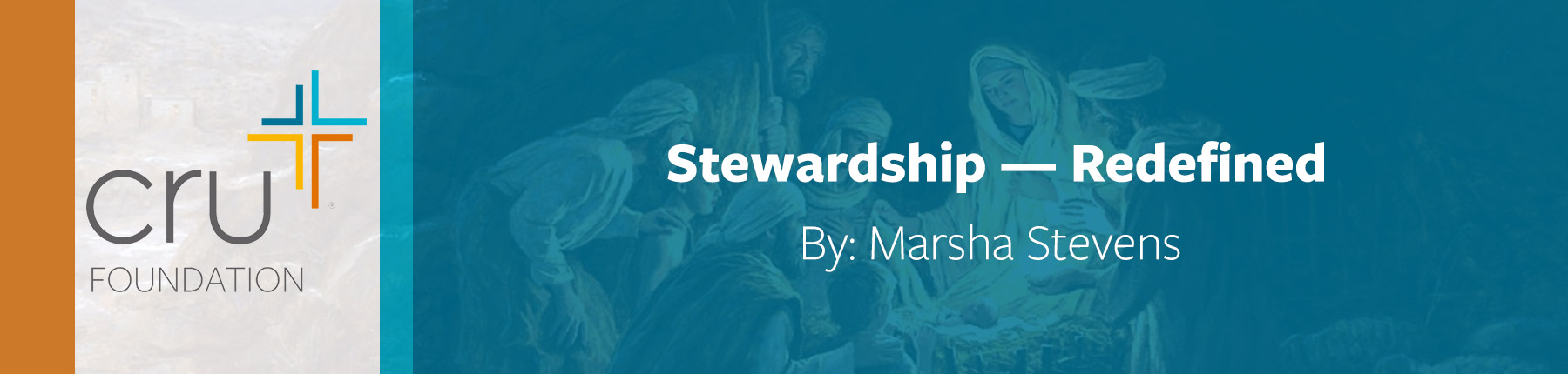 Marsha Stevens: Stewardship - Redefined