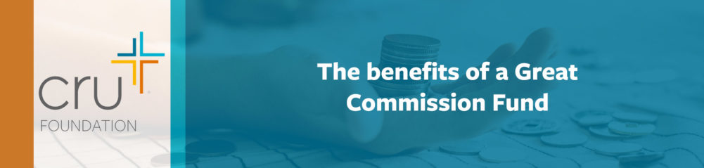 The benefits of a great commission fund banner